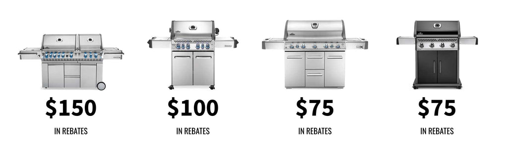 Earn up to $150 when you buy select grills