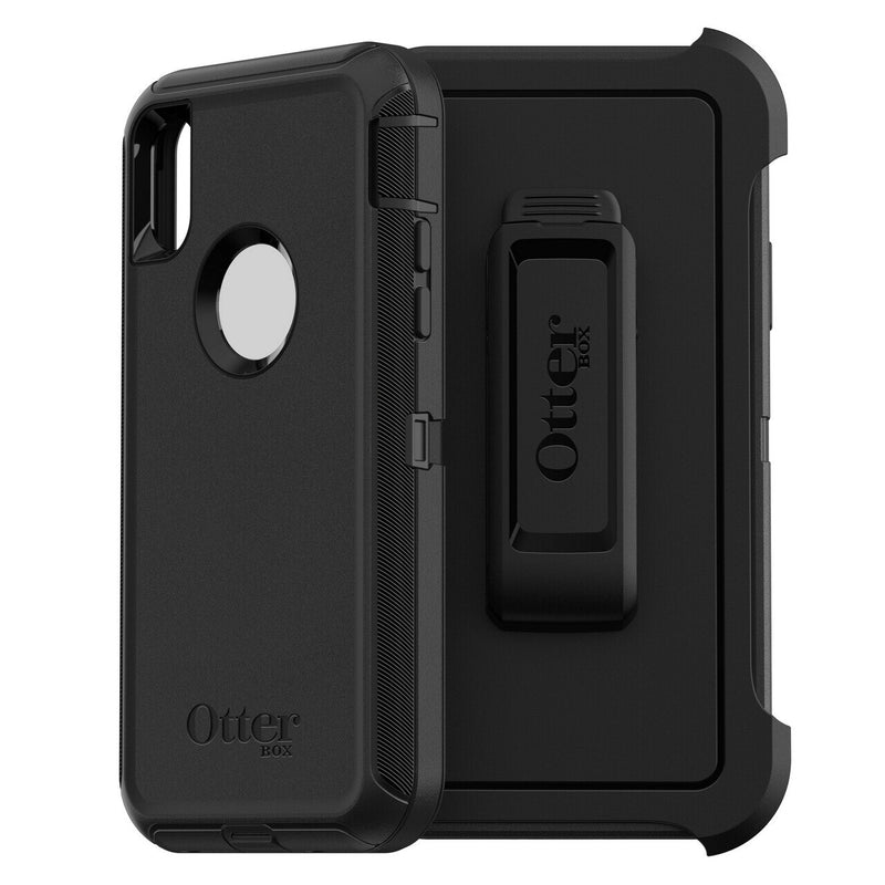 OTTERBOX DEFENDER CASE iPHONE XS MAX - BLACK