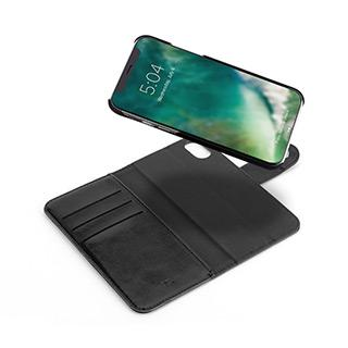 XQISIT EMAN MAGNETIC WALLET CASE iPHONE XS MAX - BLACK
