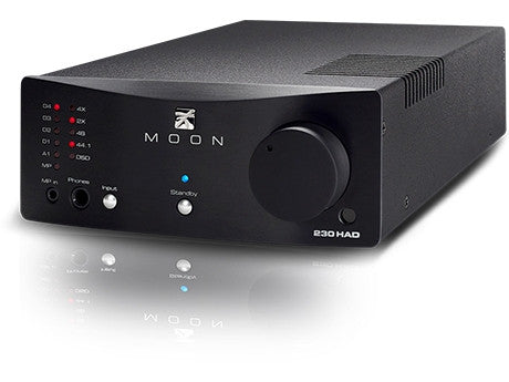 MOON 230HAD Headphone Amplifier / DSD DAC - Advance Electronics
