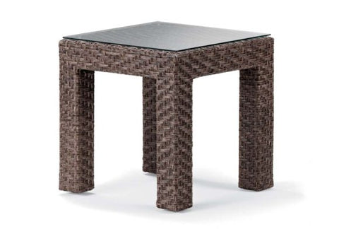Telescope Lake Shore 20″ Wicker Square End Table