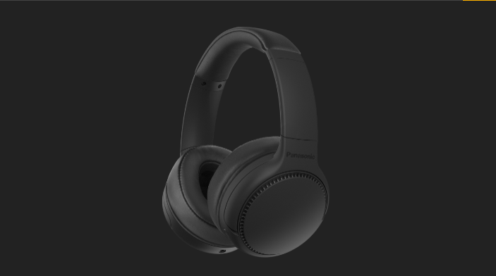 Panasonic RB-M300B Deep Bass Wireless Headphones
