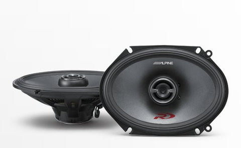 "Alpine SPR-68 6x8"" Coaxial 2-Way Speaker Set - Advance Electronics"
