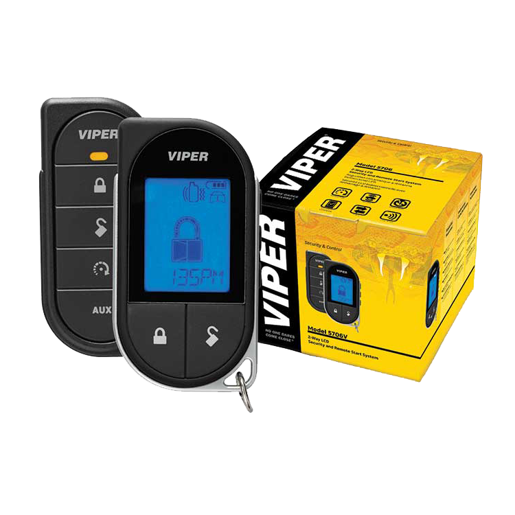 Viper LCD 2-Way 1-Mile Remote Start System + Alarm - Advance Electronics  - 1