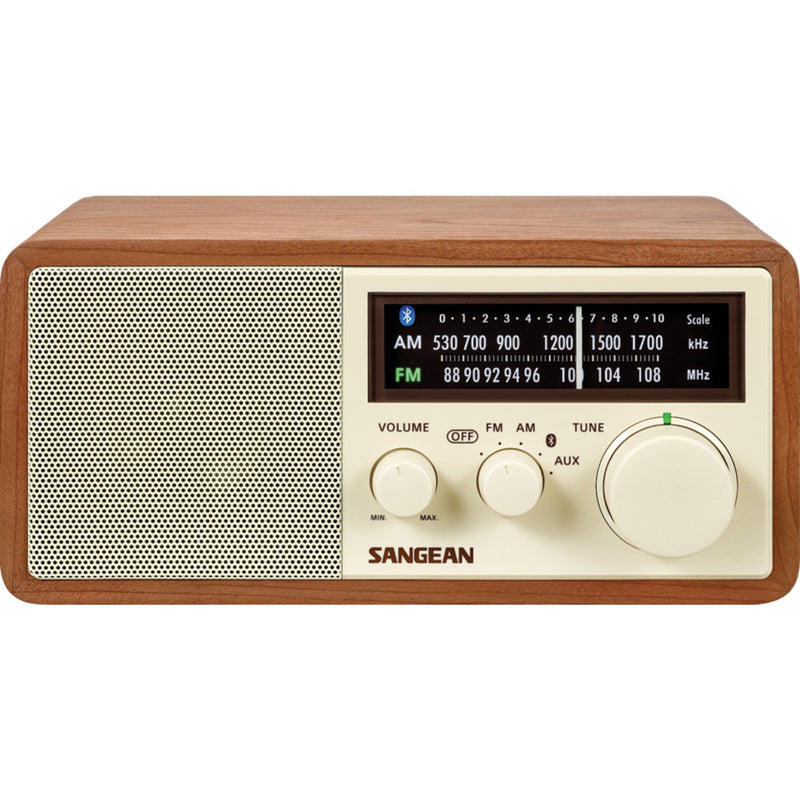 Sangean WR16 AM/FM Table Top Radio with Bluetooth