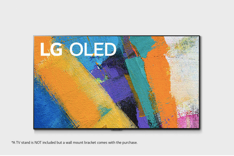 "LG 77"" GX 4K UHD HDR OLED TV with ThinQ® AI (OLED77GXPUA)"