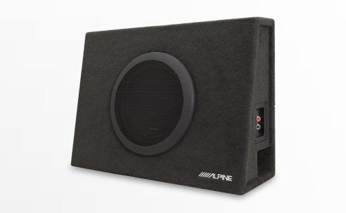 "Alpine SBT-S10V Truck Enclosure with 10"" SWT Subwoofer - Advance Electronics"