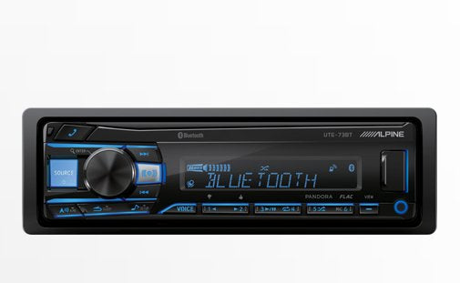 Alpine UTE-73BT Advanced Bluetooth® Mech-less Digital Receiver