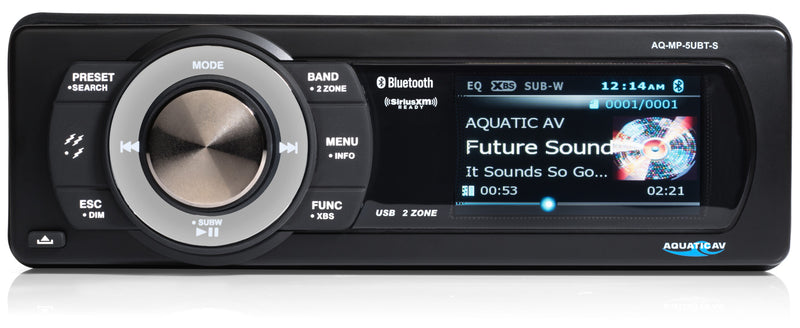 Aquatic AV MP5+ Waterproof Stereo