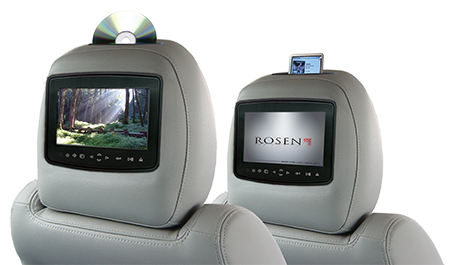 Rosen Headrest Entertainment System - Advance Electronics