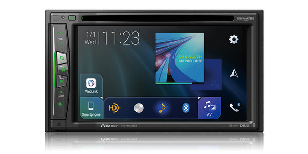"Pioneer AVIC-W6600NEX Flagship In-Dash Navigation AV Receiver with 6.2"" WVGA Capacitive Touchscreen Display"