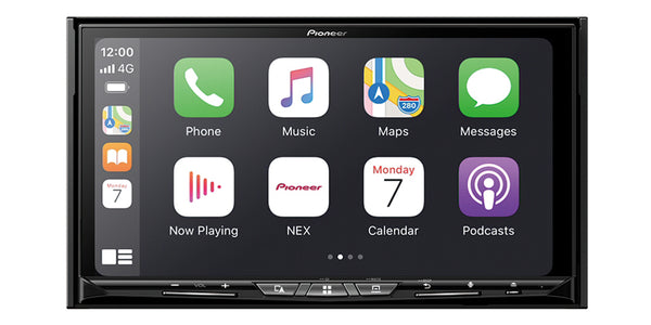 "Pioneer AVIC-W8600NEX Flagship In-Dash Navigation AV Receiver with 6.8"" WVGA Capacitive Touchscreen Display"