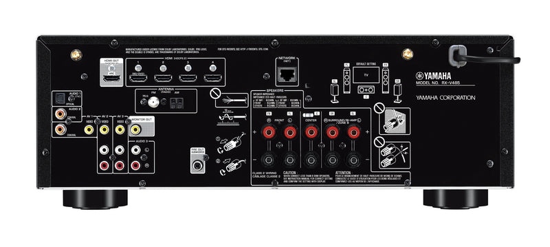 Display Models Only - Yamaha RX-V485 AV Receiver