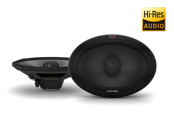 Alpine R-S69.2 R Series 6x9 Inch Coaxial 2-Way Speakers