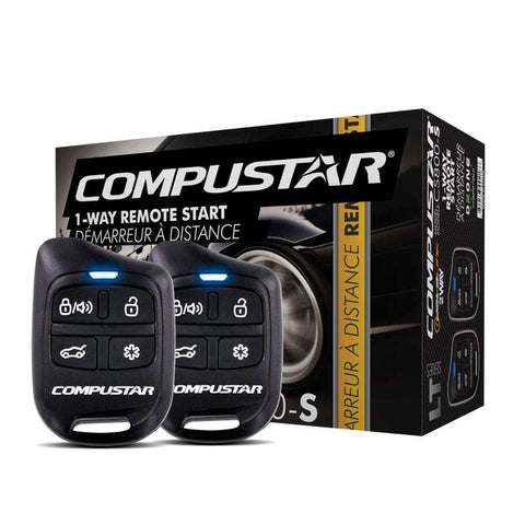 Compustar CS800S One-Way Remote Starter 1000ft Range