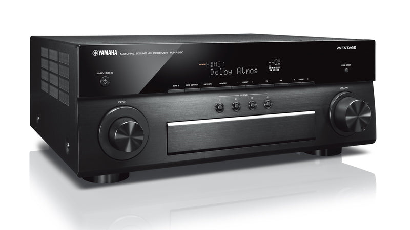 DEMO MODEL - Yamaha RX-A880 7.2-Channel AVENTAGE AV Receiver - Open Stock Only