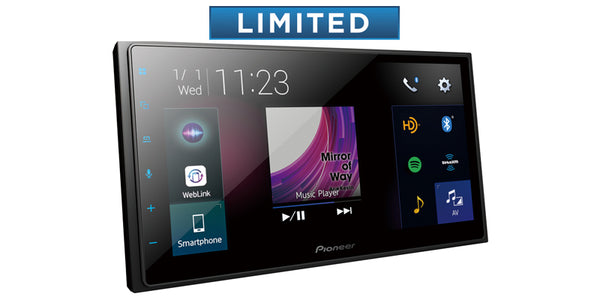 "Pioneer DMH-2660NEX Multimedia Receiver with 6.8"" WVGA Display"