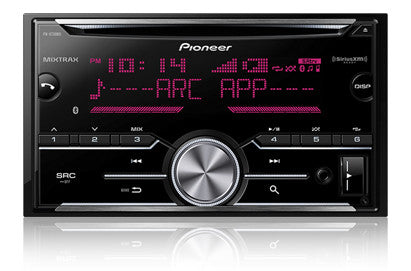 Pioneer FH-X730BS Double Din CD Receiver w/ Built in Bluetooth