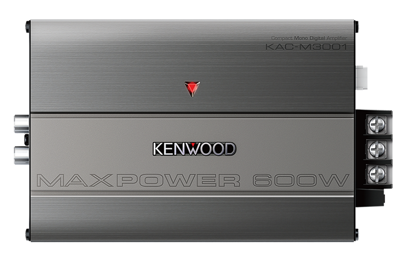 Kenwood KAC-M3001 Compact Mono Digital Amplifier - Advance Electronics