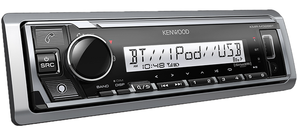 Kenwood KMR-M328BT Marine/Motorsports Digital Media Receiver with Bluetooth