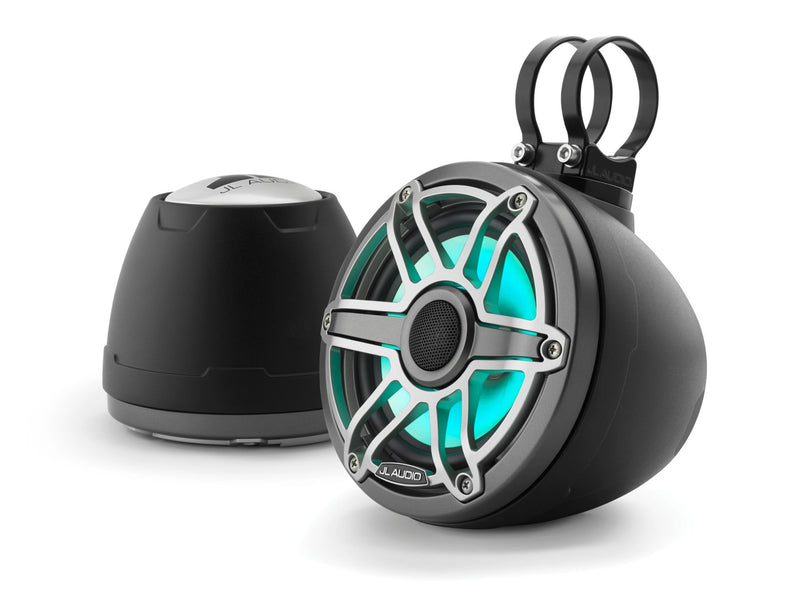 JL Audio M6-650VEX 6.5-inch (165 mm) Enclosed Coaxial System with Transflective™ LED Lighting