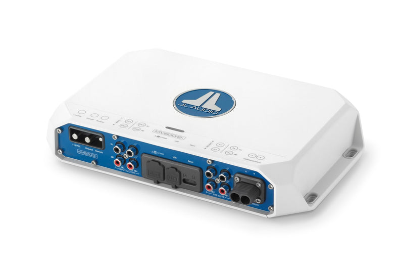 JL Audio MV600/2i 2 Ch. Class D Full-Range Marine Amplifier with Integrated DSP, 600 W