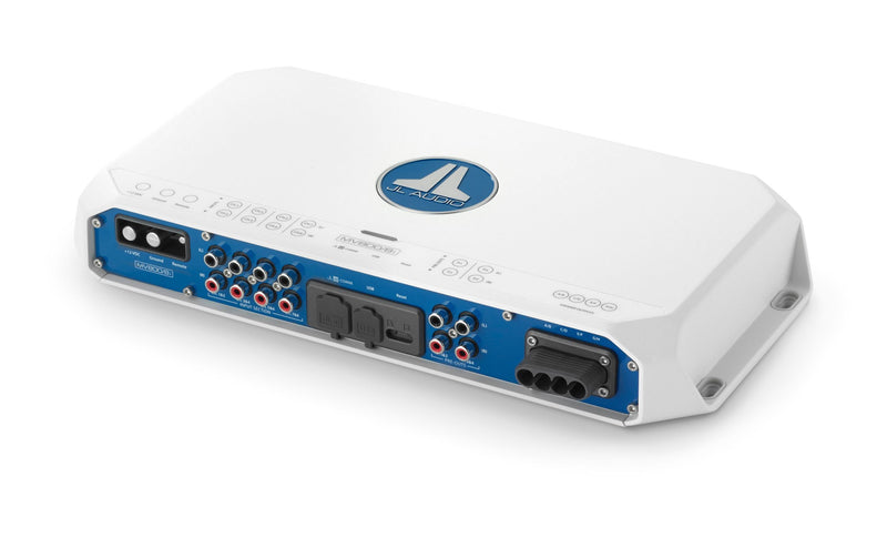 JL Audio MV800/8i 8 Ch. Class D Full-Range Marine Amplifier with Integrated DSP, 800 W