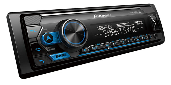 Pioneer MVH-S322BT Digital Media Receiver with Pioneer Smart Sync App Compatibility, MIXTRAX®, Built-in Bluetooth®