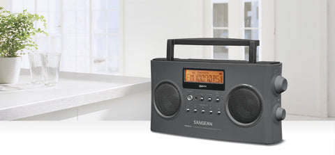Sangean PR-D15 FM-Stereo RDS (RBDS) / AM Digital Tuning Portable Receiver