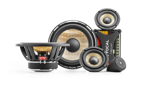 Focal PS 165 F3 FLAX CONE / 6.5″ & 3″ 3-Way Component Kit - Advance Electronics  - 1