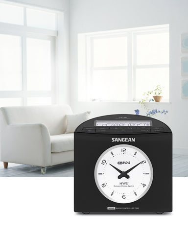 Sangean RCR-9 FM-RDS (RBDS) / AM Digital Tuning Atomic Clock Radio