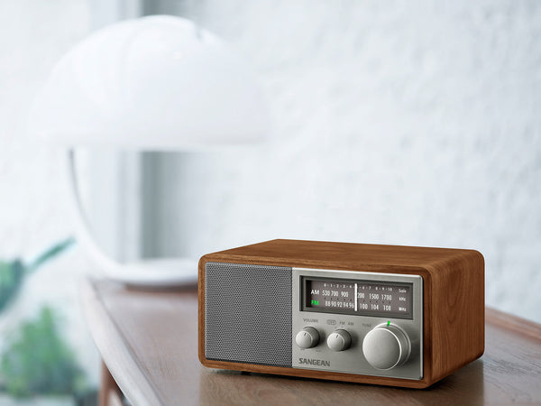 Sangean SG-116 FM / AM Analog Wooden Cabinet Radio