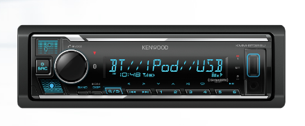 Kenwood KMM-BT328U Digital Media Receiver with Bluetooth