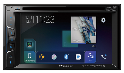 "Pioneer AVH-501EX Multimedia DVD Receiver with 6.2"" WVGA Display"