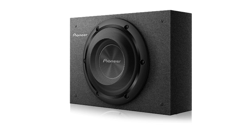 "Pioneer TS-A2000LB 8"" Shallow-Mount Pre-Loaded Enclosure"