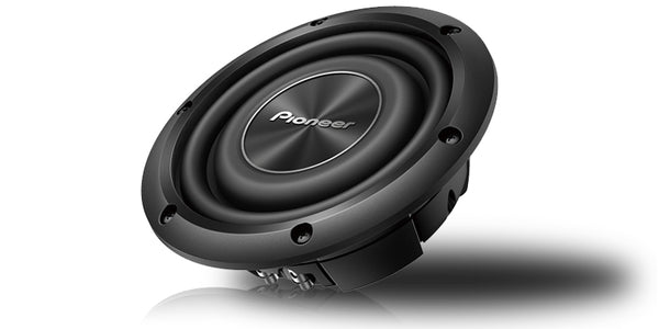 "Pioneer TS-A2000LD2 8"" Shallow-Mount Subwoofer with 700 Watts Max. Power"