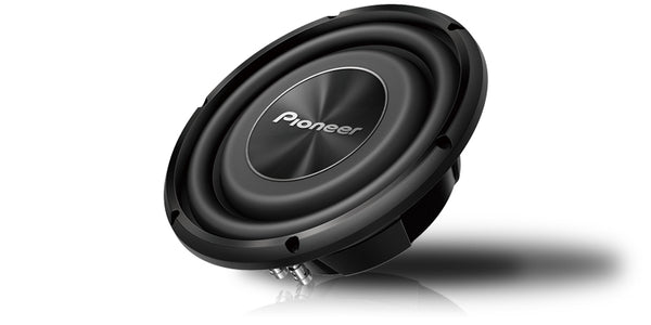 "Pioneer TS-A2500LS4 10"" Shallow-Mount Subwoofer with 1,200 Watts Max. Power"