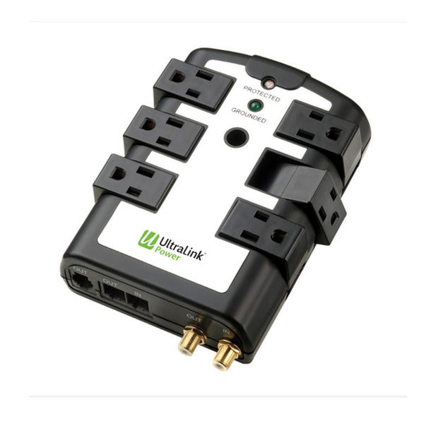 UltraLink ELC75 6-Outlet Rotating Surge Protector