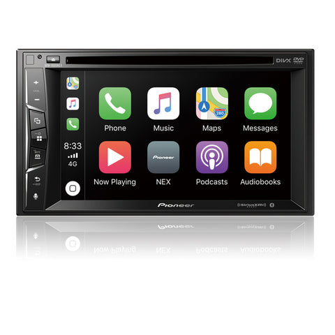 "Pioneer AVH-1500NEX Multimedia DVD Receiver with 6.2"" WVGA Display"