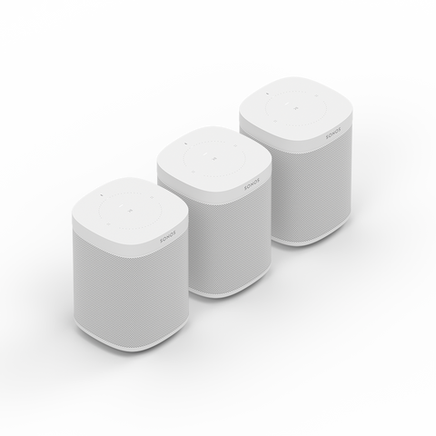 Three-room Set with Sonos ONE Smart Speaker