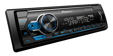 Pioneer MVH-S312BT Digital Media Receiver with Pioneer Smart Sync App Compatibility & Bluetooth