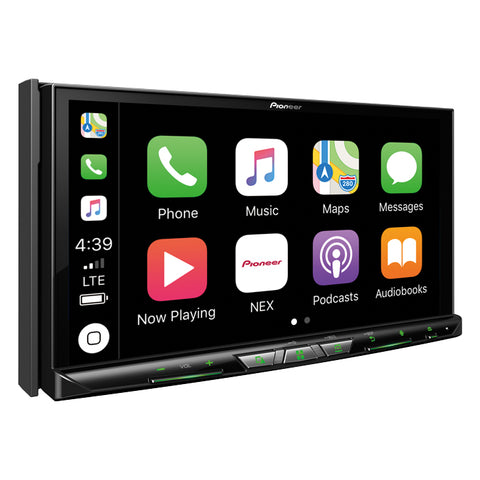 Pioneer AVIC-W8500NEX Flagship In-Dash Navigation AV Receiver with 6.94˝ WVGA Capacitive Touchscreen Display