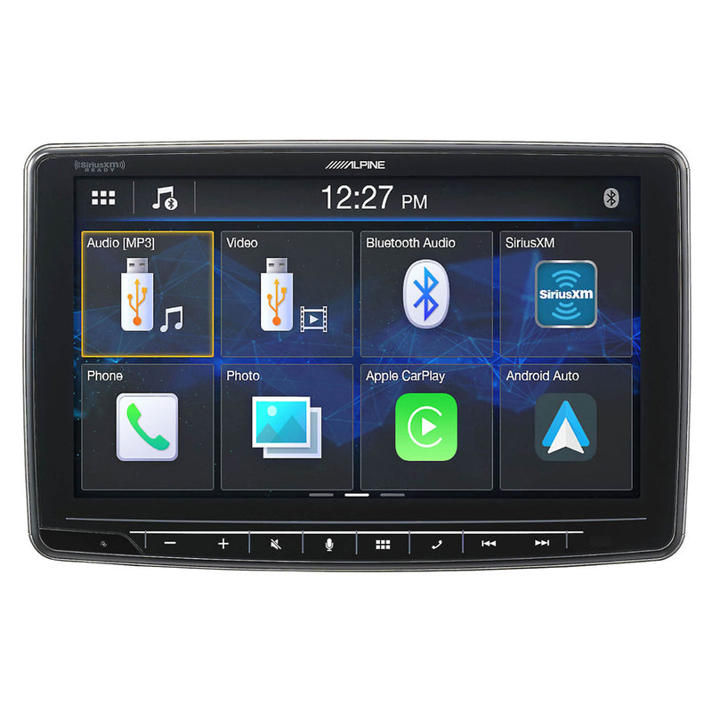 "Alpine ILX-F259 9"" Halo9 Mech-less Audio/Video Receiver with Apple CarPlay and Android Auto"