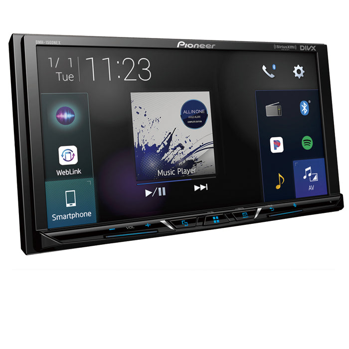 "Pioneer DMH-1500NEX Digital Multimedia Video Receiver with 7"" WVGA Display"