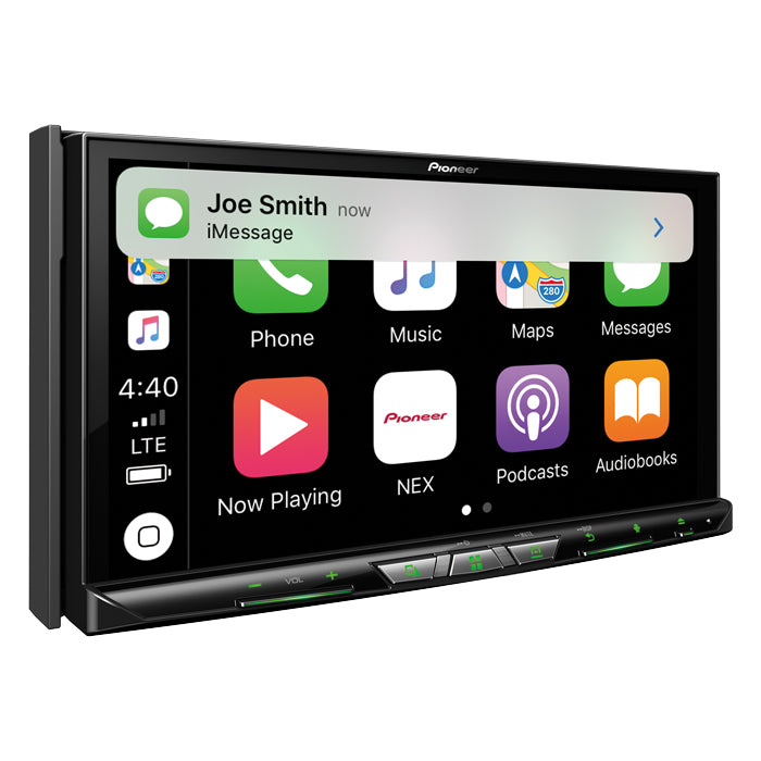 DEMO MODEL - Pioneer AVIC-W8500NEX Flagship In-Dash Navigation AV Receiver with 6.94˝ WVGA Capacitive Touchscreen Display