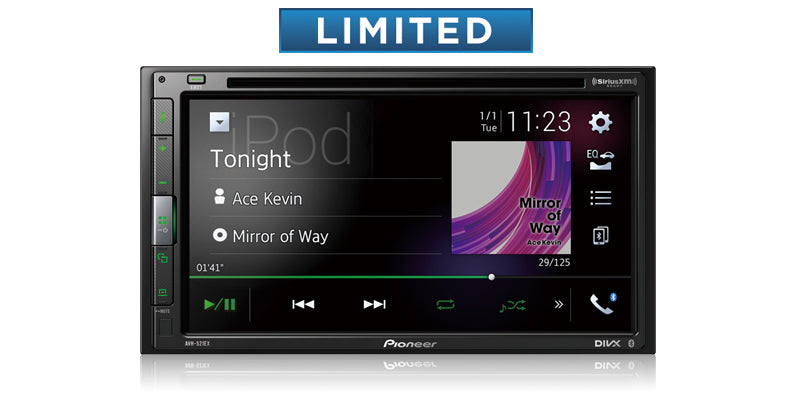 "Pioneer AVH-521EX Multimedia DVD Receiver with 6.8"" WVGA Display"