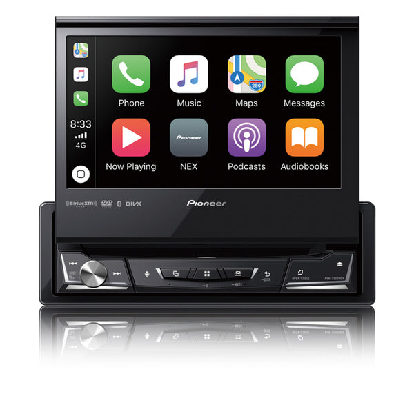 "Pioneer AVH-3500NEX 1-DIN Multimedia DVD Receiver with 6.8"" WVGA Display"