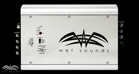 Wet Sounds SYN MICRO Full Range 2 Channel Class H Amplifier - Advance Electronics  - 1