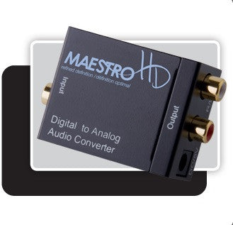 Maestro MC1 Digital to Analog Audio Converter - Advance Electronics