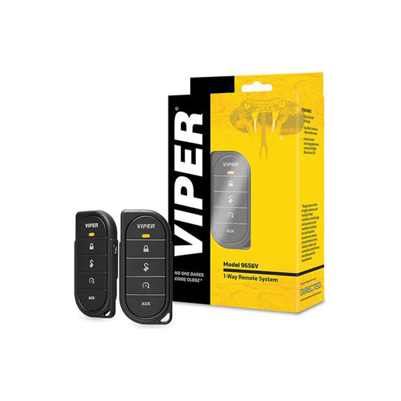 Viper D9656V 1-Way Remote Starter Package